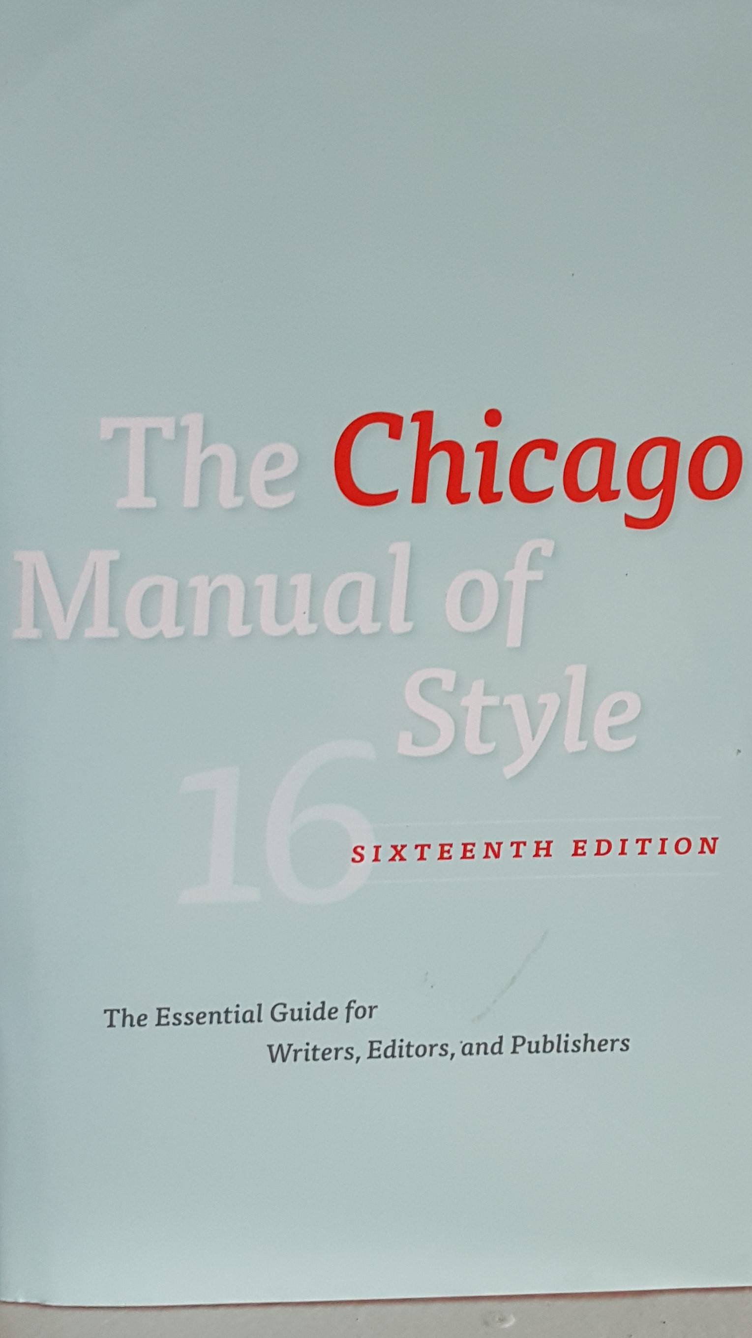 Chicago Manual of Style-Proofread
