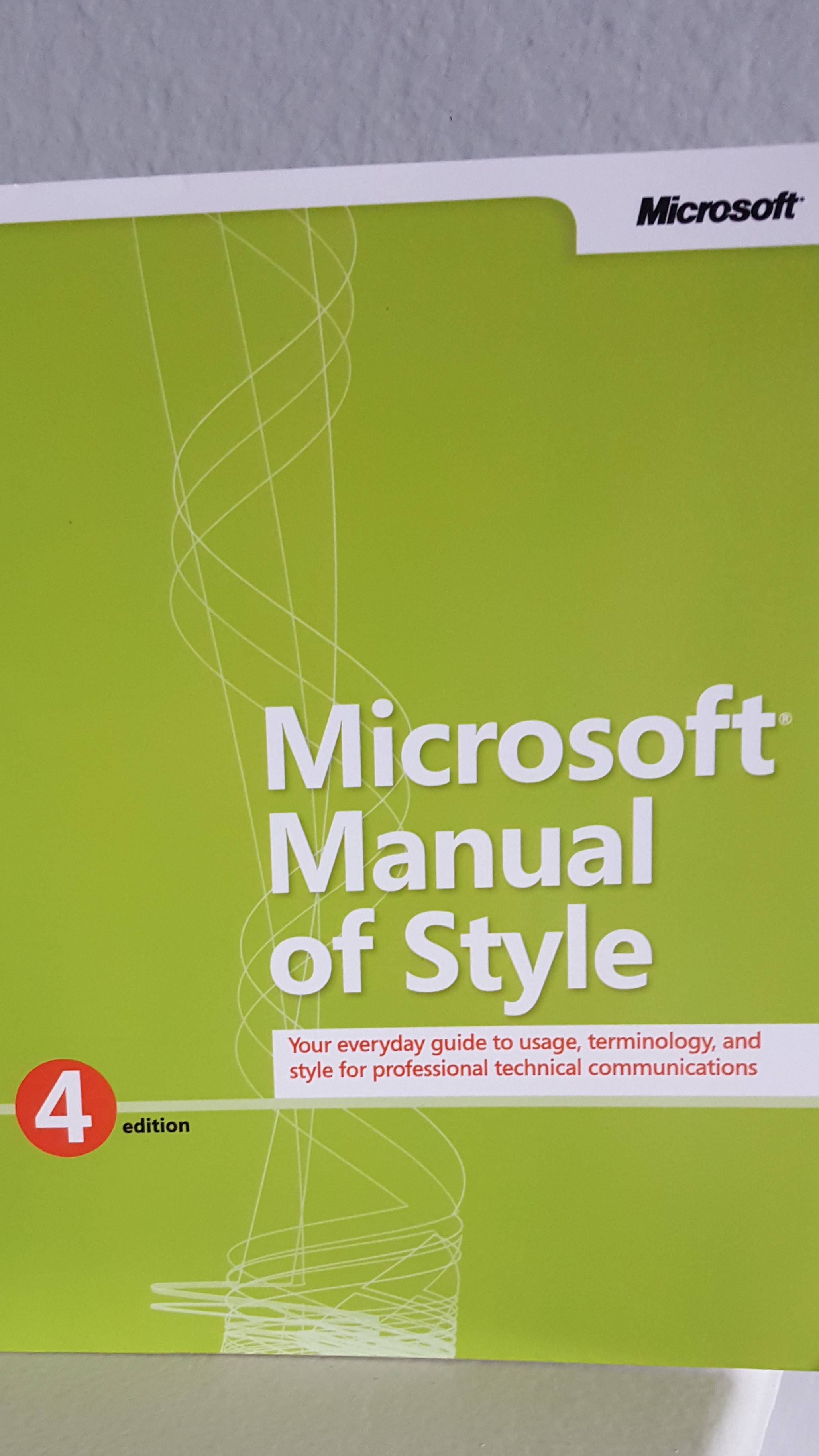 Microsoft Manual of Style-Proofread