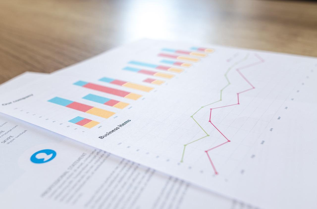 Financial plan graphic